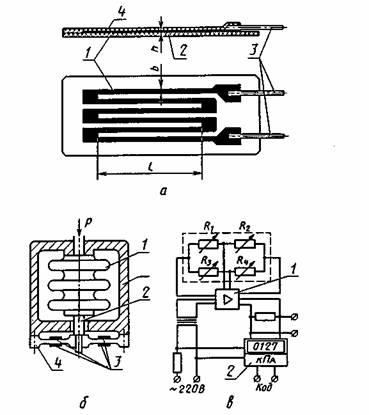 Фольговый тензорезистор